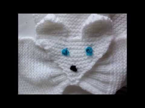 Youtube tricot echarpe feuille