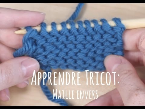 Tricot maille reguliere
