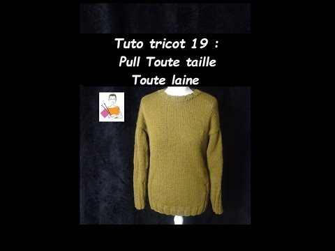 Tricoter un pull femme facile youtube