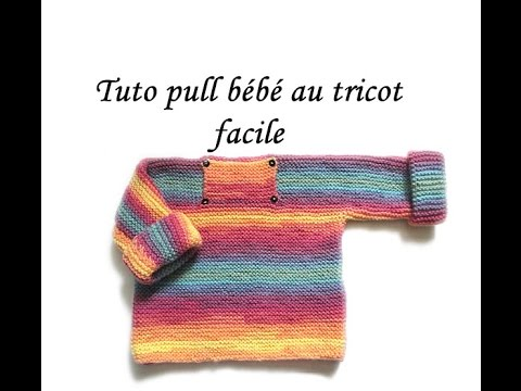 Youtube tricot facile bebe