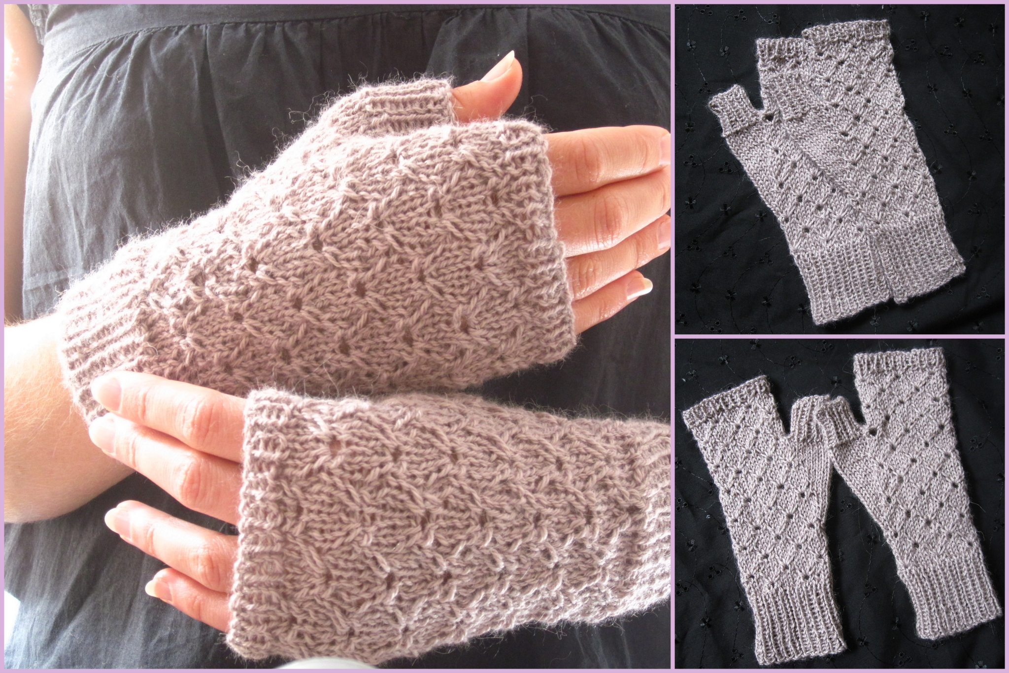 Tricot modele fille 4 ans