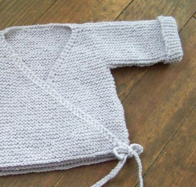 Tricot brassiere simple