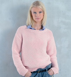 Tricot pull jersey femme