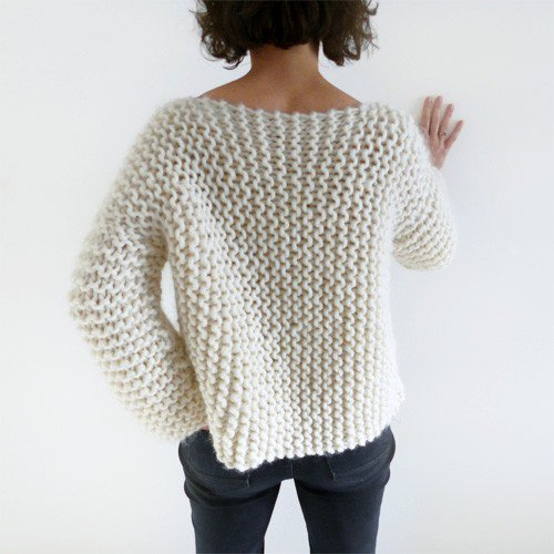 Tricot pull rapide