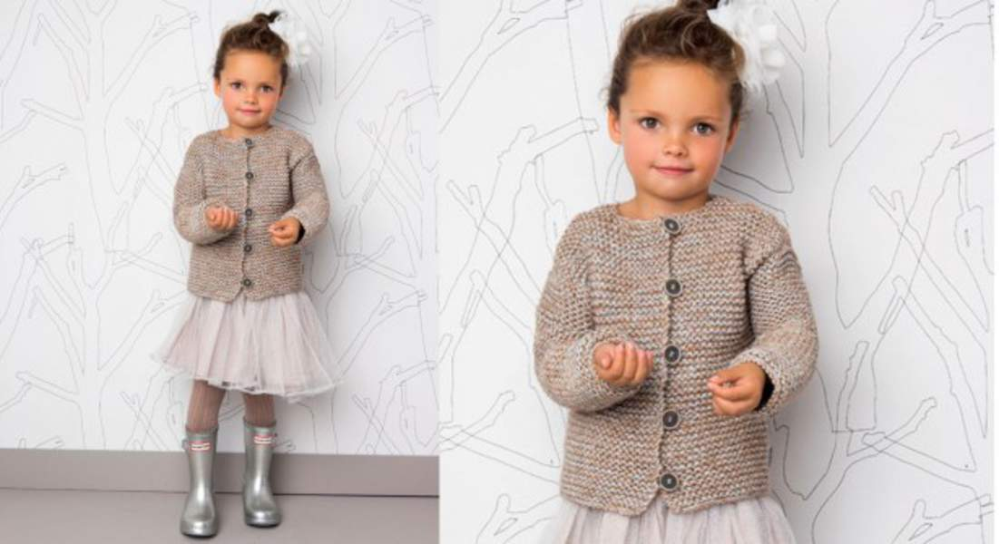 Tricot robe 10 ans