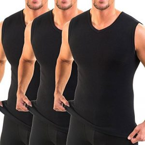 Maillot de corps invisible homme