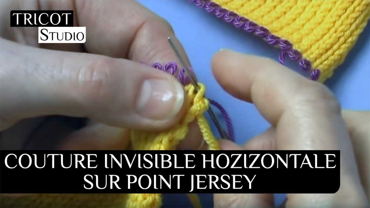 Tricot couture invisible jersey