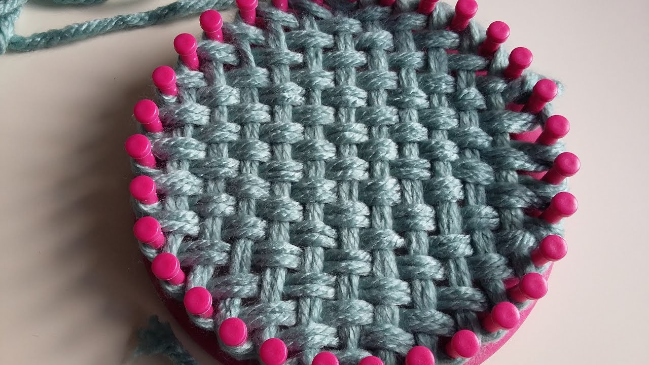Tricot circulaire tricotin