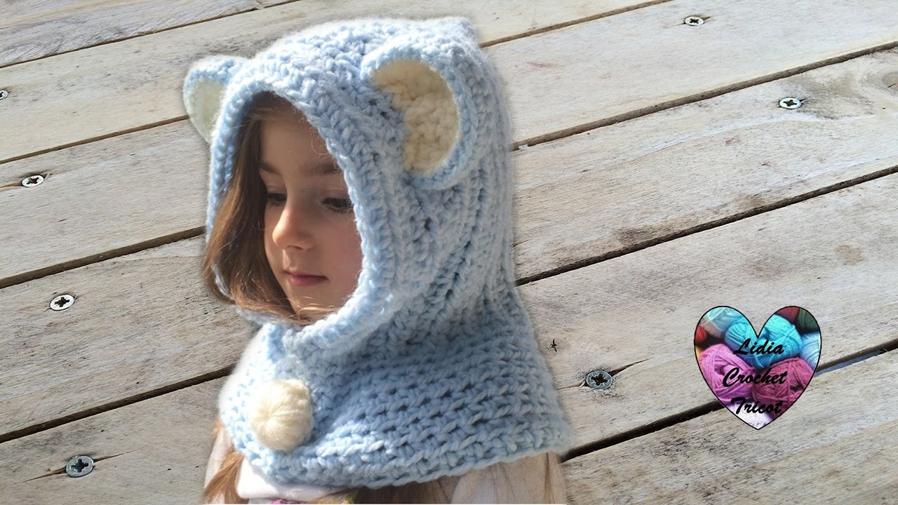 Tricot snood fille 5 ans