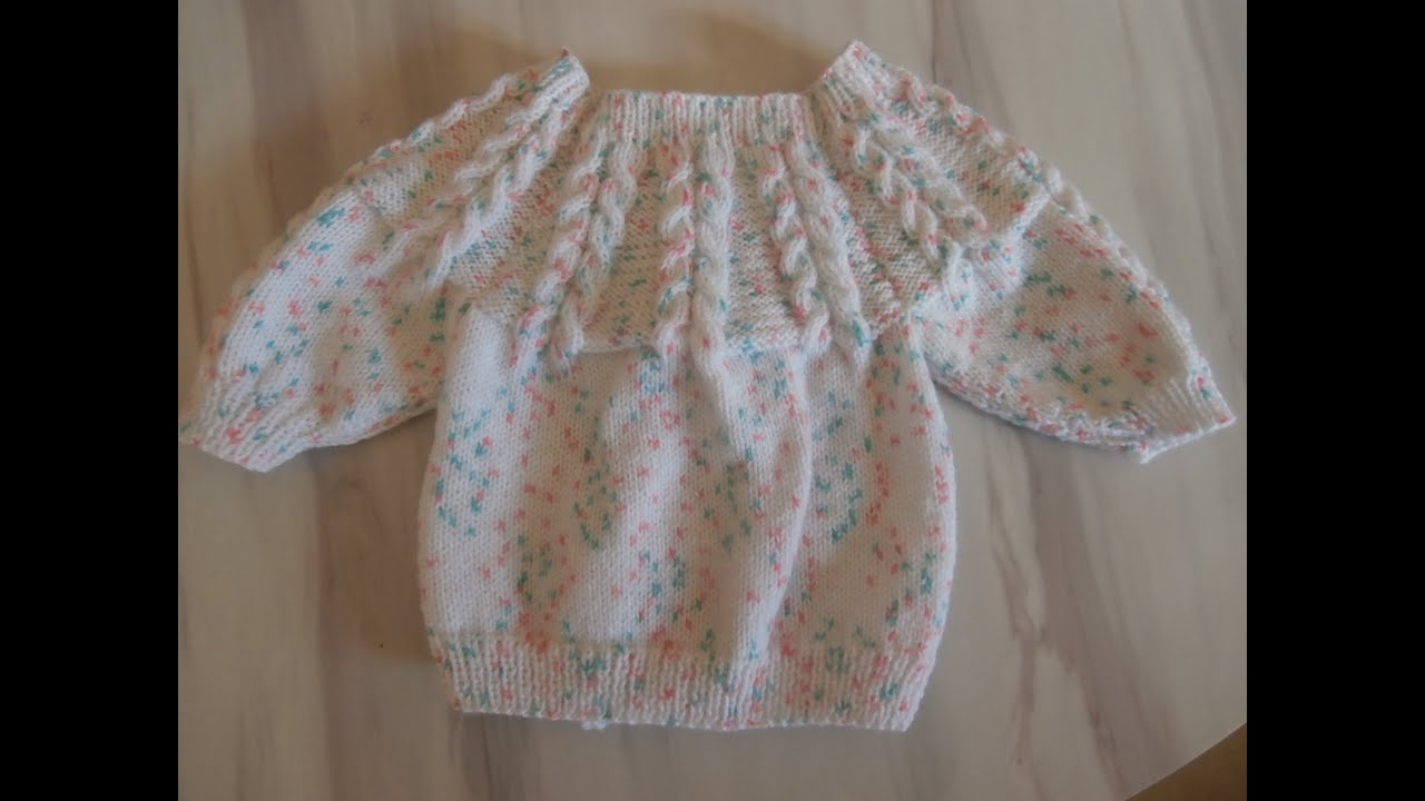Tricots layette explications