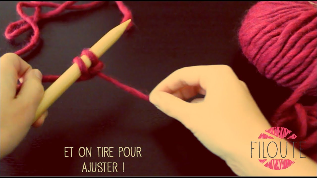 Tuto tricot monter maille