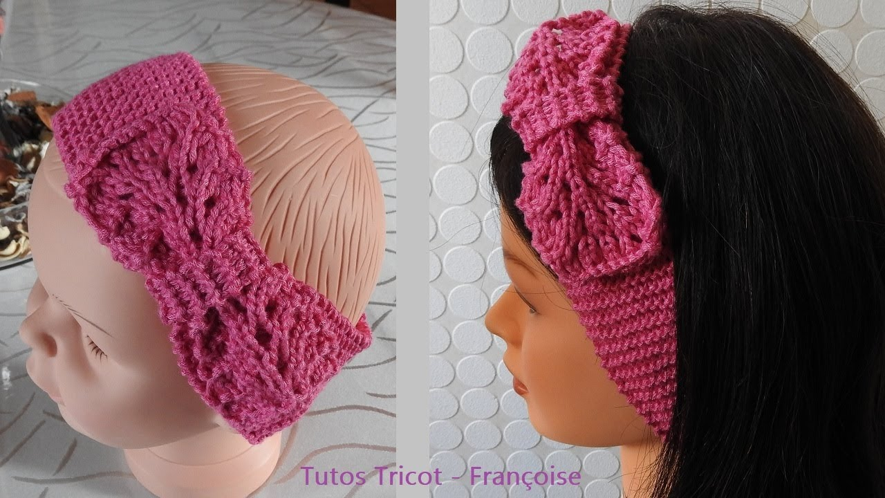 Tricot point noeud