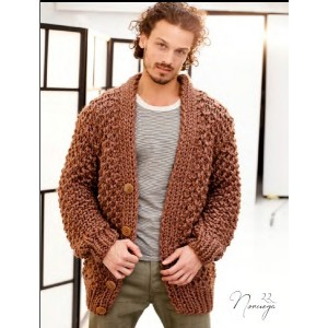 Tricot cardigan homme
