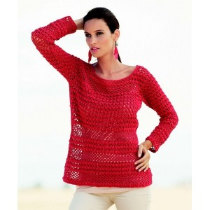 Tricot pull coton femme
