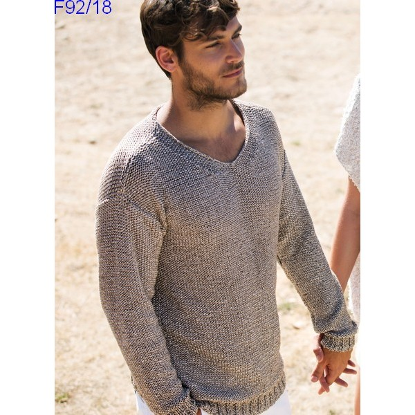 Tuto tricot pull homme gratuit