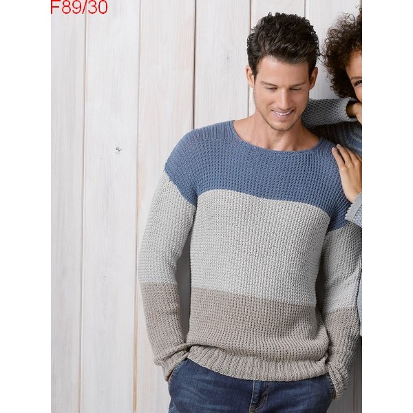 Modele tricot homme facile