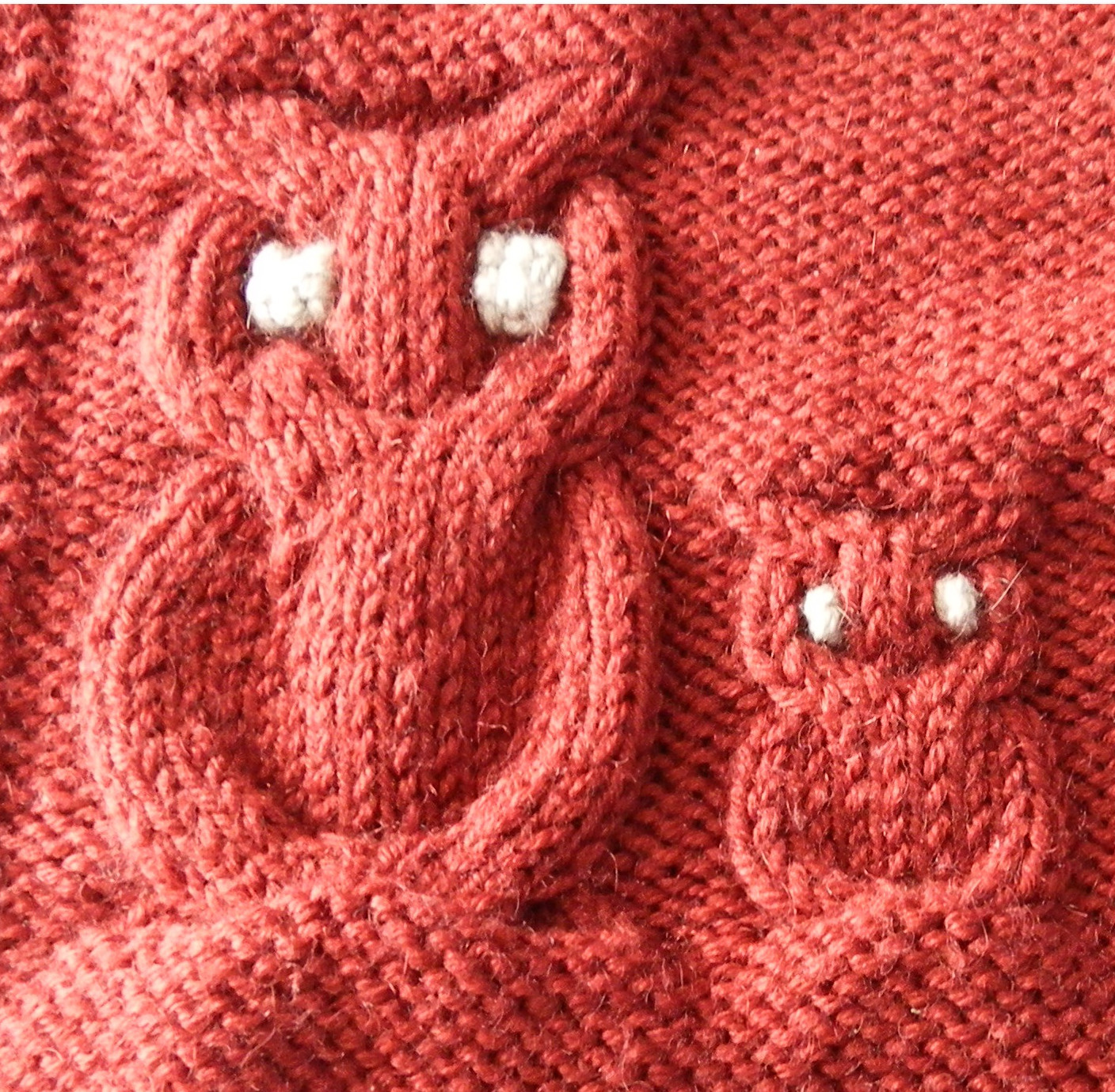 Couture tricot envers