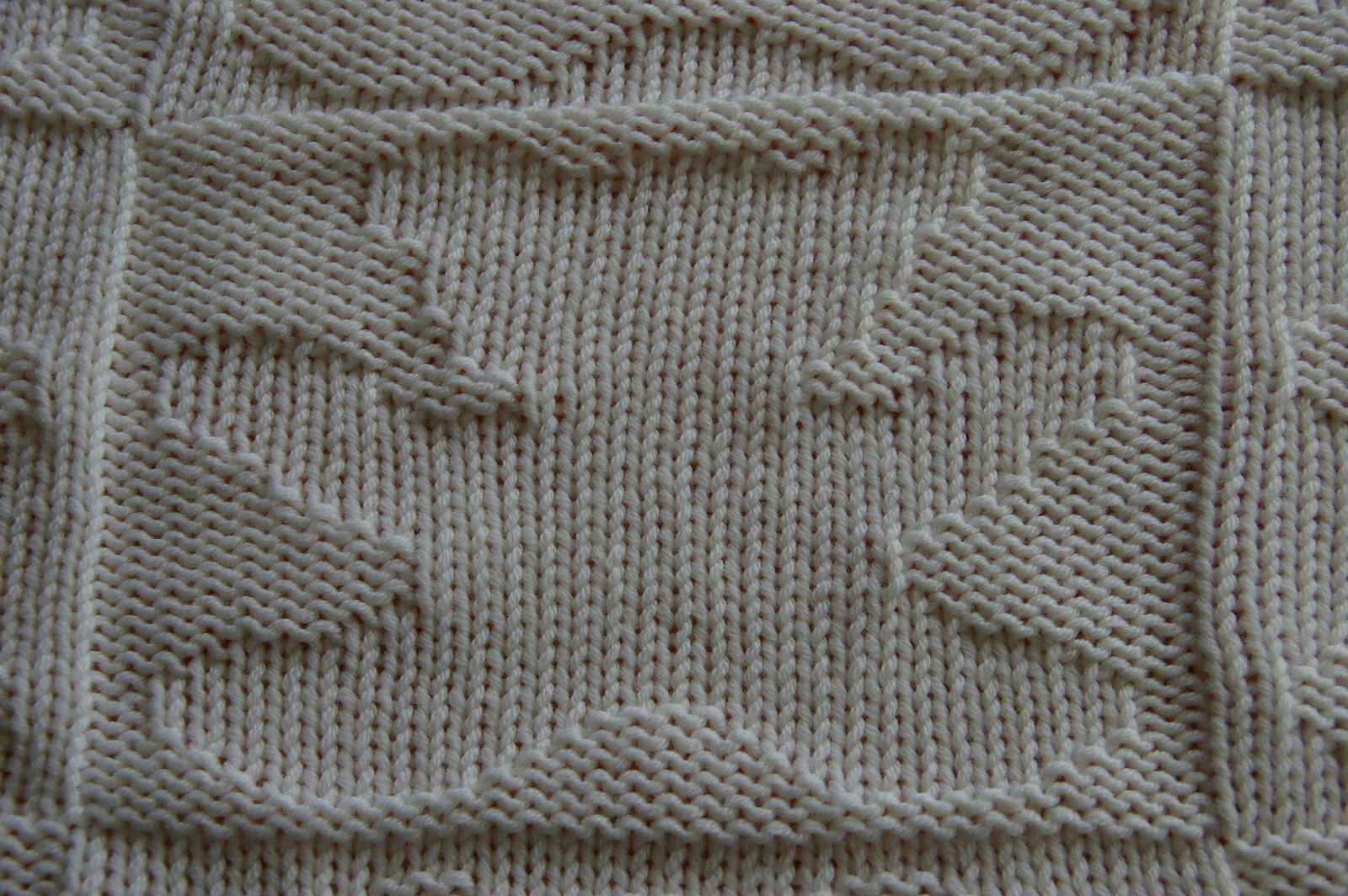 Grille tricot couverture bebe