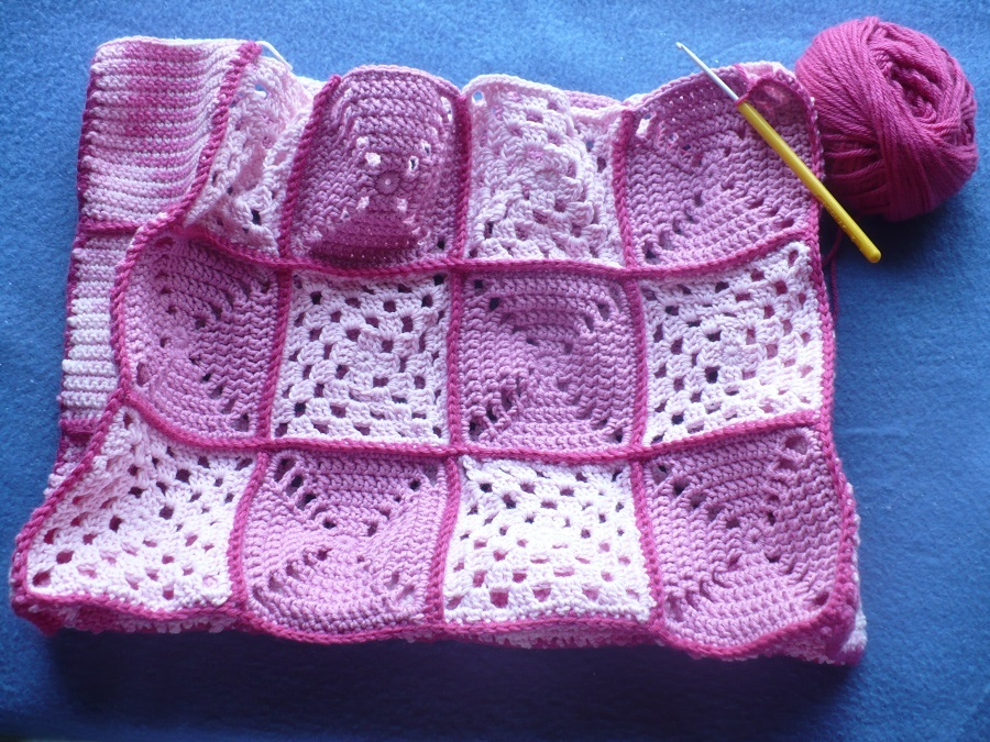 Tricot belles finitions