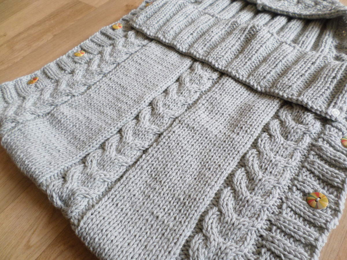 Patron tricot nid d'ange cosy