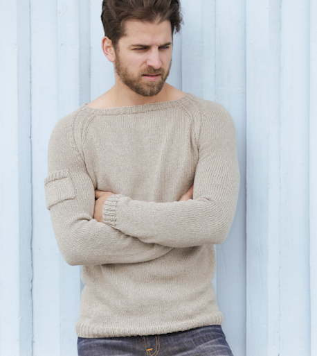 Tricot drops homme