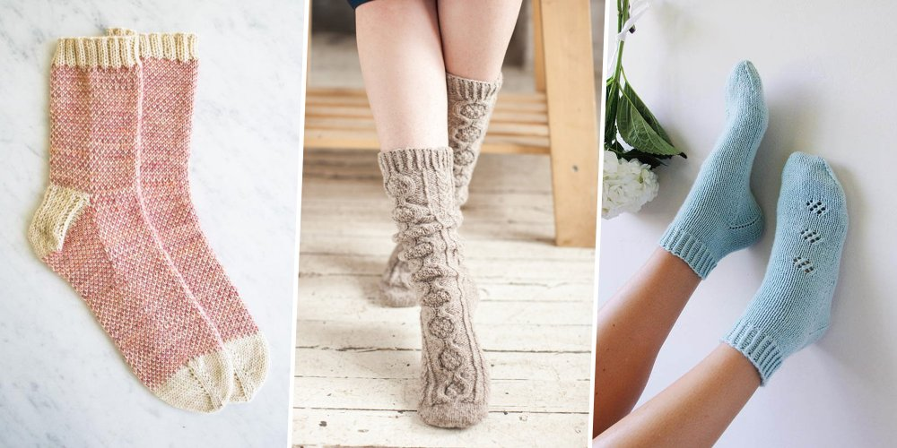 Tricot chaussettes magic loop