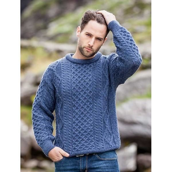 Pull irlandais homme occasion
