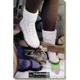 Tricoter chaussettes chaussons
