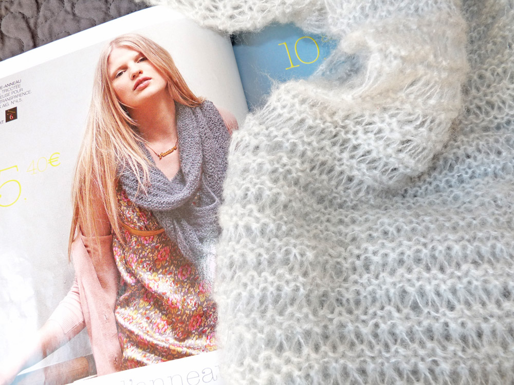 Tricot point liseuse