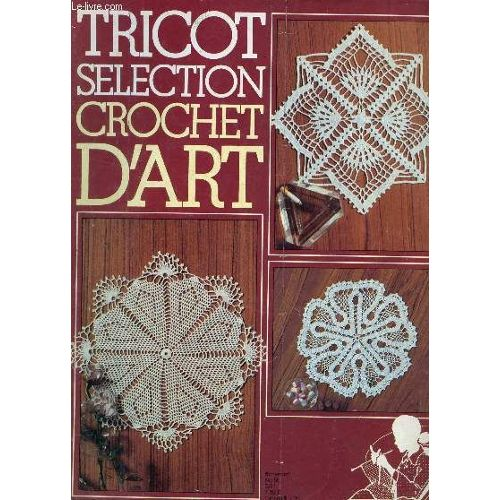 Tricot napperon rond