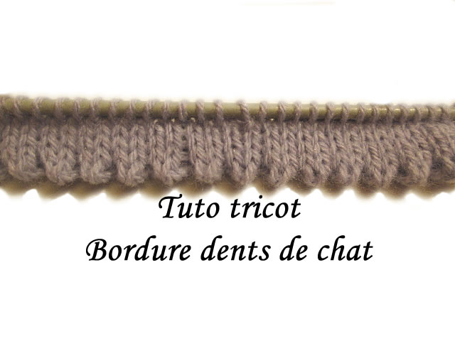 Tuto tricot maille jersey