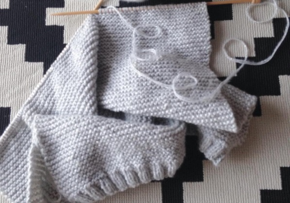 Tuto tricot point mousse debutant