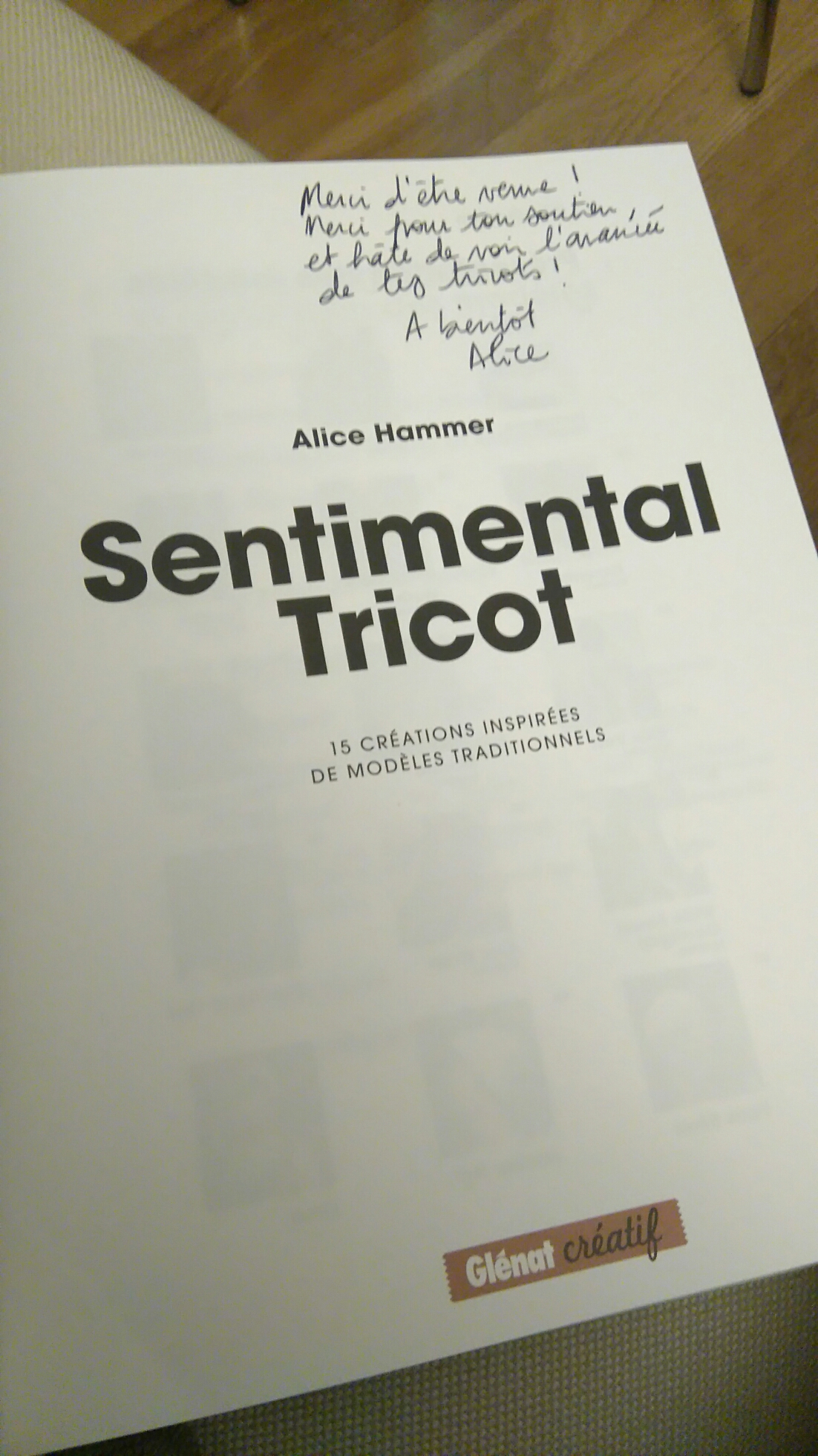 Tricot sentimental alice hammer