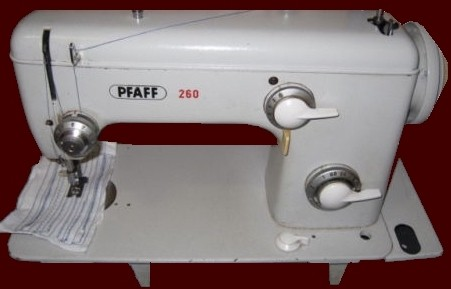 Machine à coudre pfaff 260
