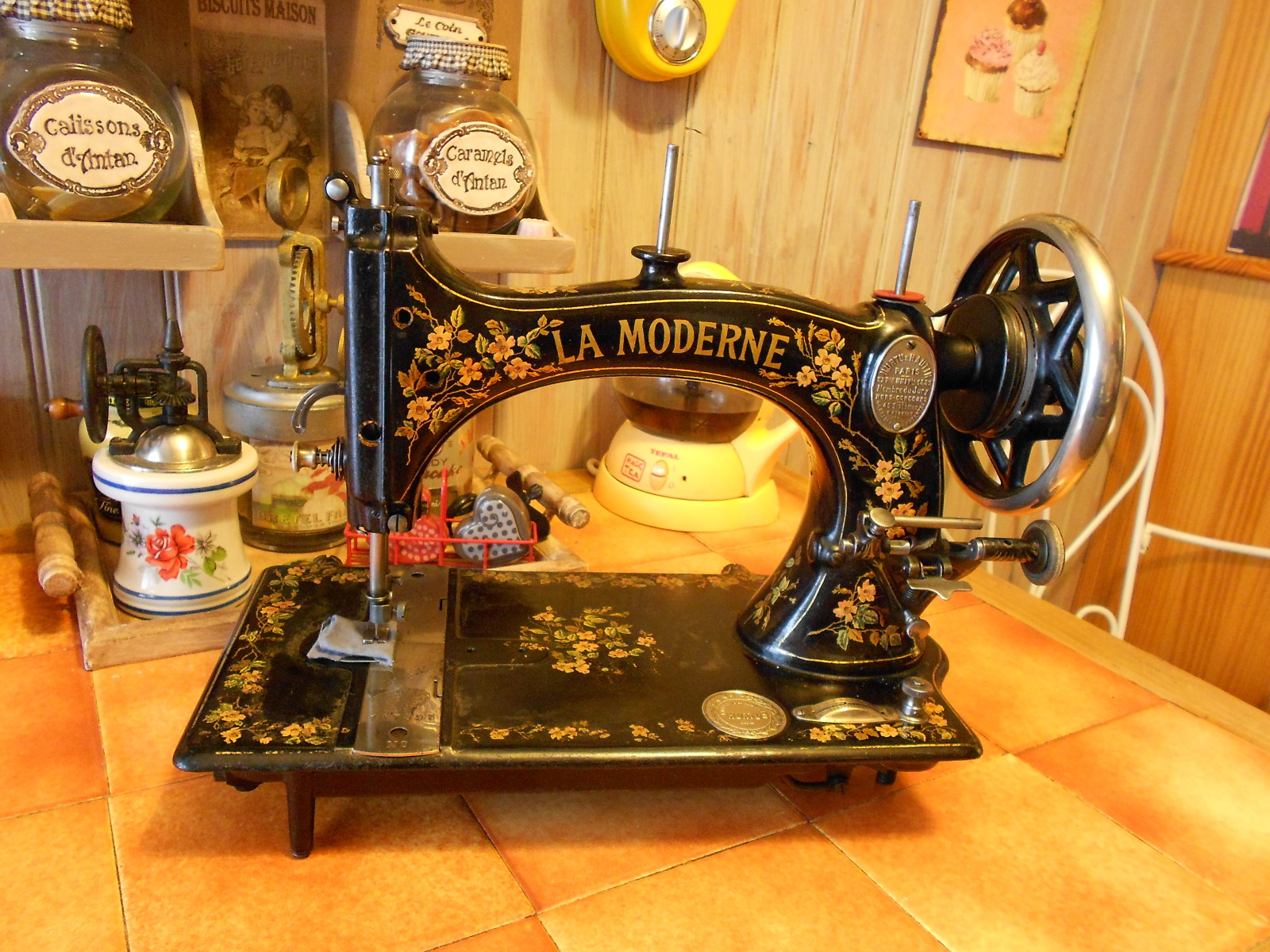 Vendeur machine a coudre brother