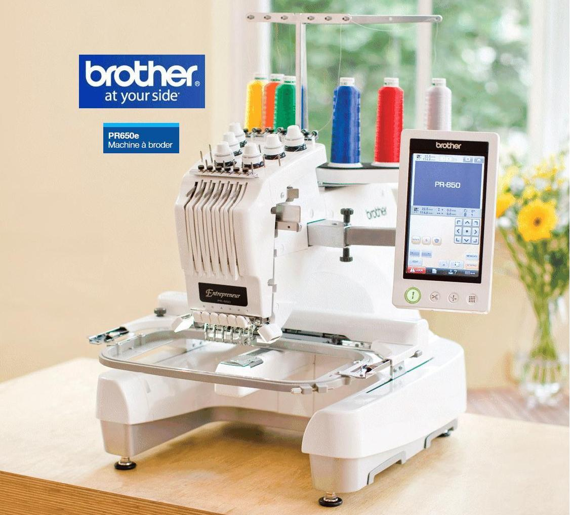 Machine a coudre broderie professionnelle