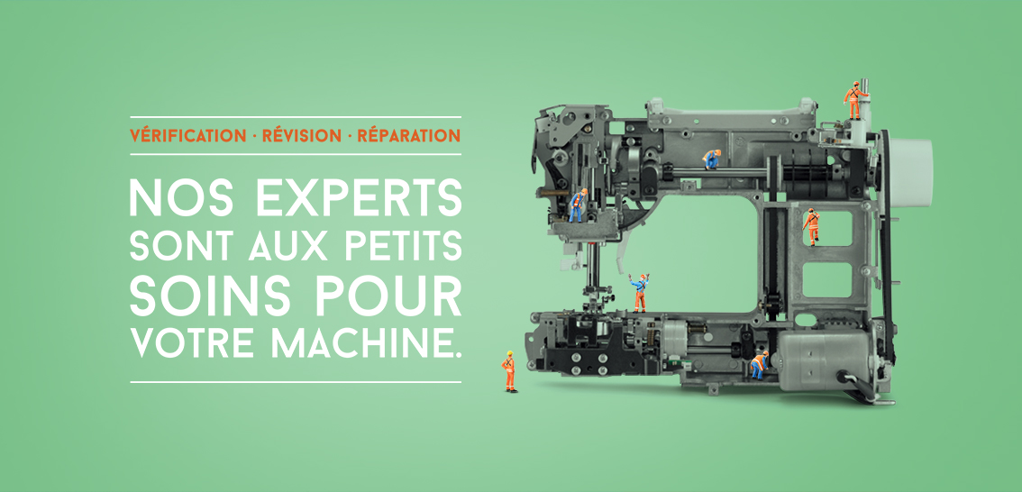 Reparation machine a coudre singer vendee