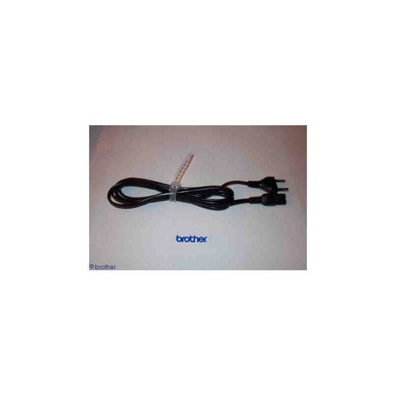 Cable d'alimentation machine a coudre brother