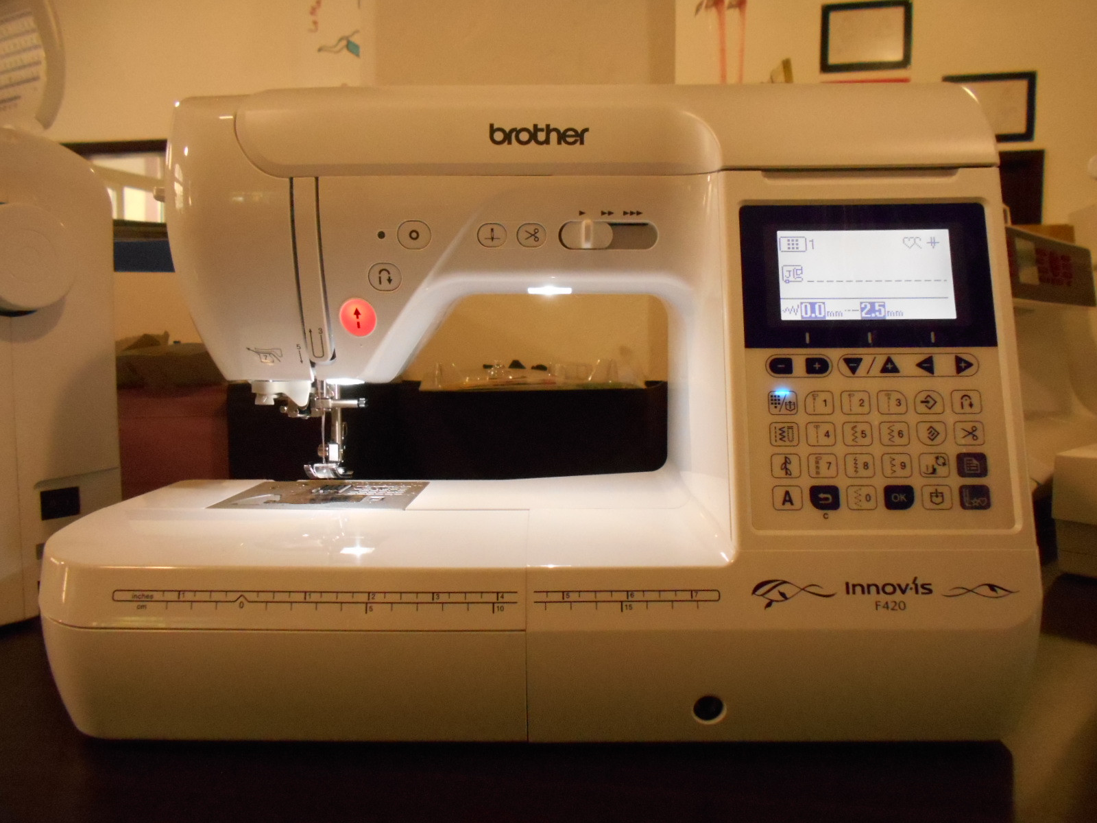 Machine a coudre brother f420