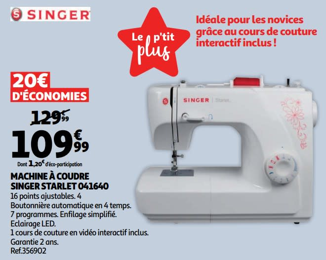 Singer starlet machine a coudre