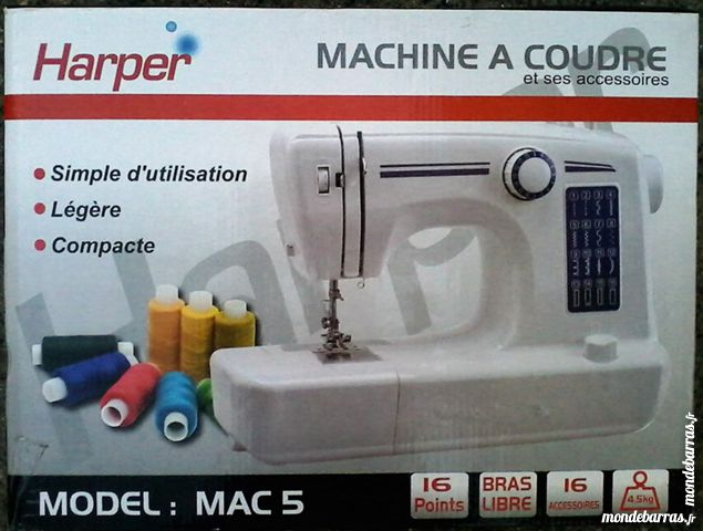 Harper mac 5 machine a coudre