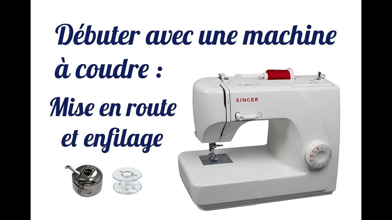 Montage machine a coudre