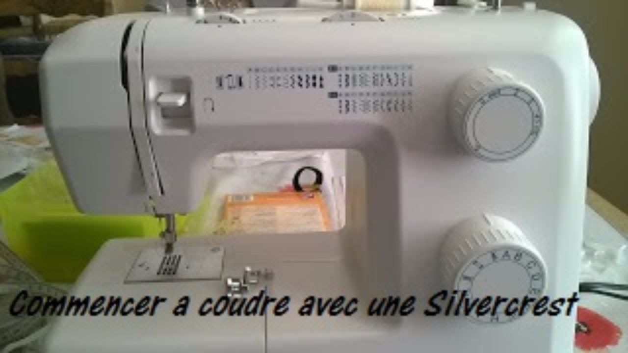 Youtube machine a coudre silvercrest