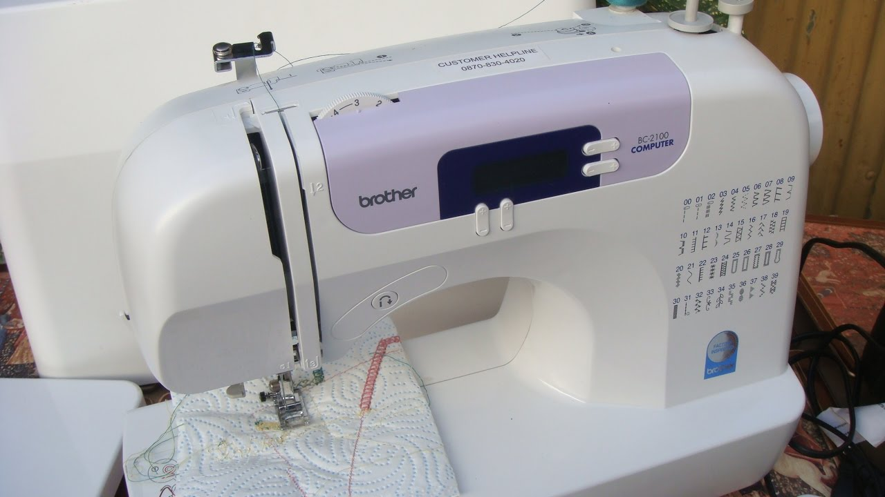 Machine a coudre brother es 2200