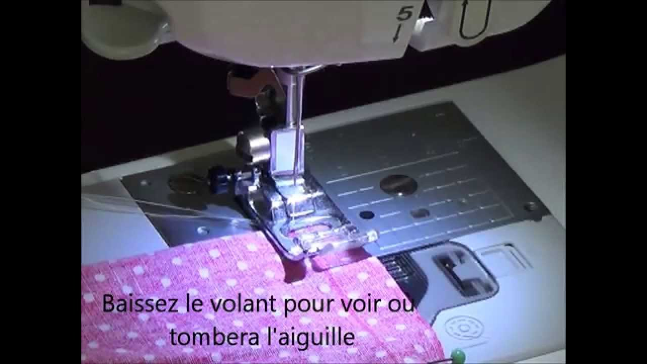 Monter machine a coudre