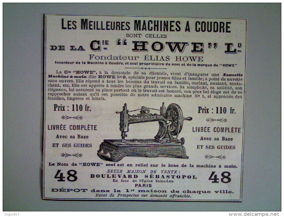 Machine a coudre ancienne new national