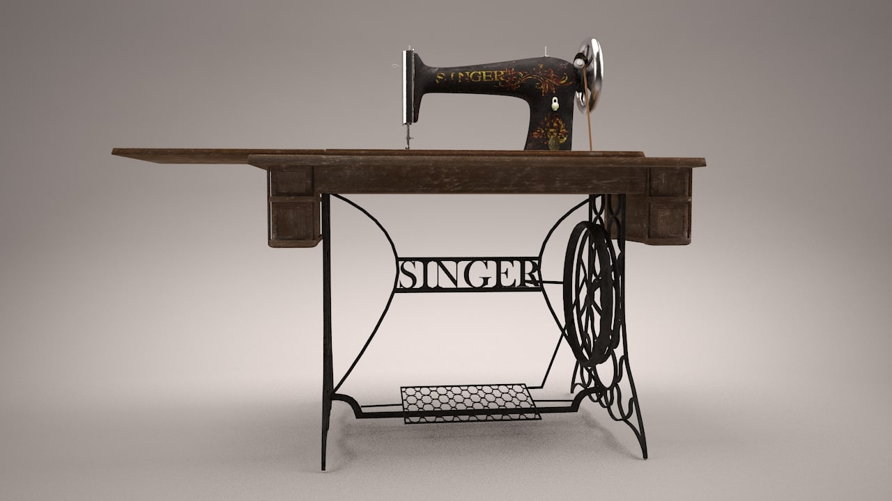 Image machine a coudre singer