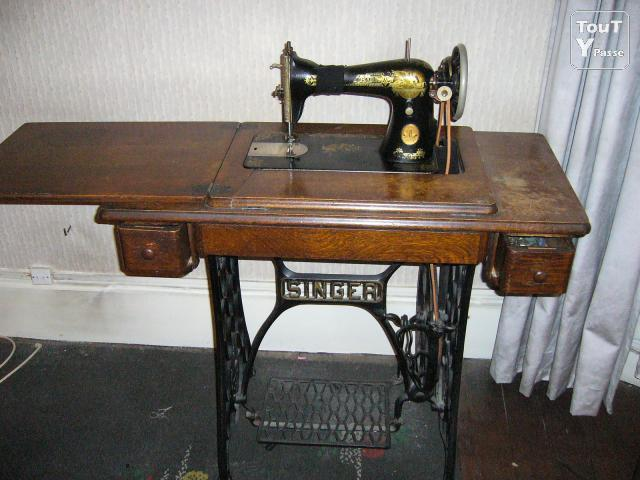 Modele ancienne machine a coudre singer