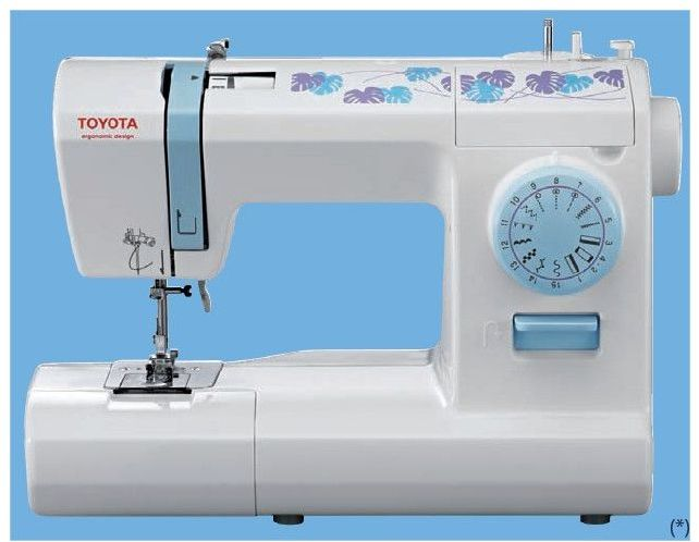 Cannette machine a coudre toyota