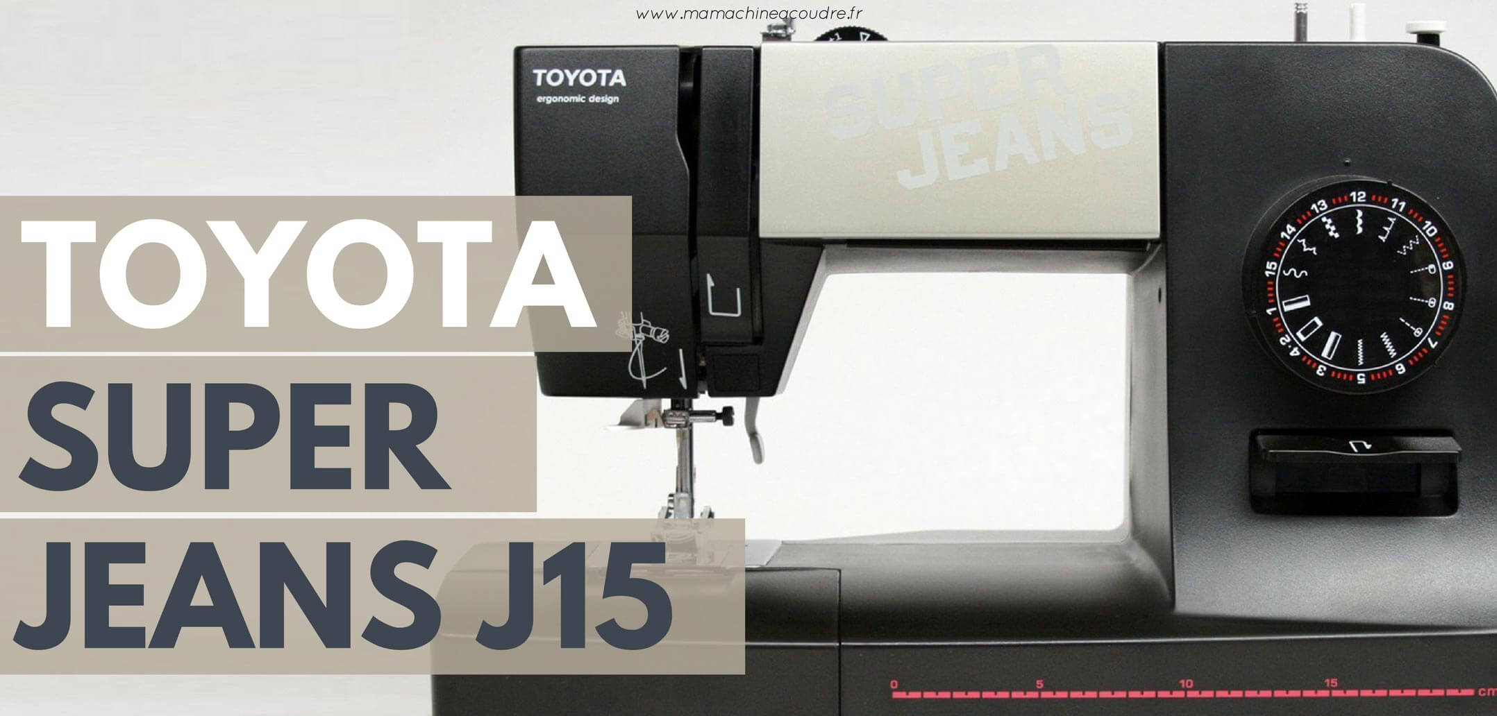 Cable machine a coudre toyota